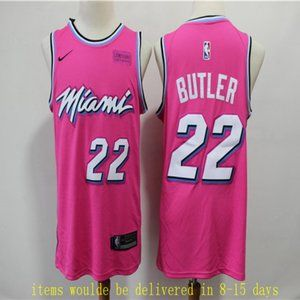 Miami Heat #22 Jimmy Butler Jersey stitch
